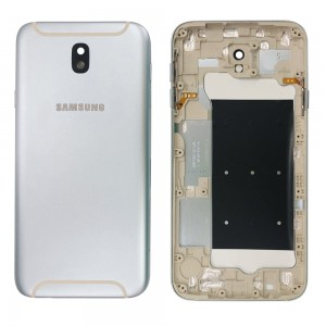 Samsung Galaxy J7 2017 J730 - Back Housing Cover Silver / Blue