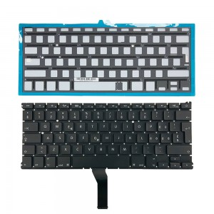Macbook Air 13 inch A1466 2015 - Swiss Keyboard Swiss Multilingual Layout with Backlight