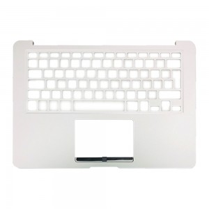 Macbook Air 13 inch A1466 2015 - Keyboard  Cover Silver