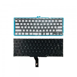 Macbook Air 11 inch A1370 2011 A1465 2012-2015 - French Keyboard FR Layout with Backlight