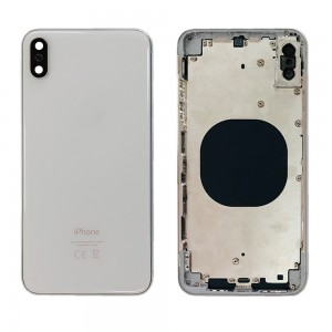 iPhone XS MAX - Back Housing Cover Silver