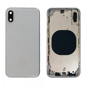 iPhone XS - Back Housing Cover Silver