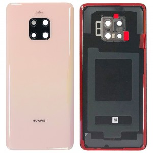 Huawei Mate 20 Pro - OEM Battery Cover Pink Gold with Camera Lens & Adhesive