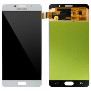 Samsung Galaxy A7 2016 A710 - Full Front LCD Digitizer White