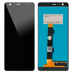 Nokia 3.1 - Full Front LCD Digitizer Black