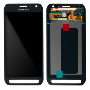 Samsung Galaxy S6 Activ G890 - Full Front LCD Digitizer Grey