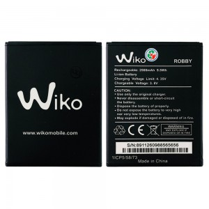 Wiko Robby - Battery 1ICP5/58/73 2500mAh 9.5Wh