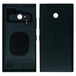 Nokia Lumia 730  - Back Housing Cover with Buttons Black