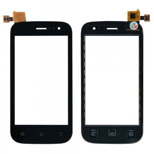 Wiko Cink Slim - Front Glass Digitizer Black
