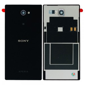 Sony Xperia M2 D2303, Dual D2302 - Battery Cover Black