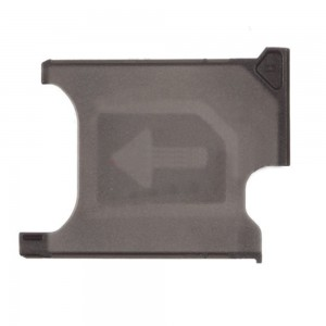 Sony Xperia Z1 L39H - SIM Card Tray Holder Black