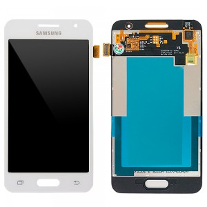 Samsung Galaxy Core 2 G355H - Full Front LCD Digitizer White