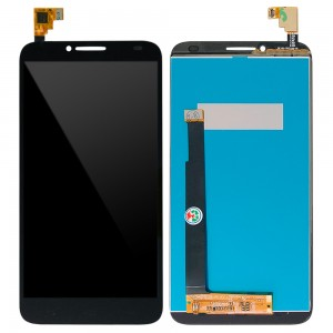 Alcatel One Touch idol 2 6037 - Full Font LCD Digitizer Black
