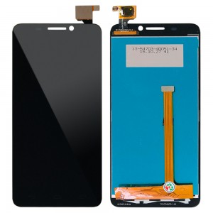 Alcatel One Touch idol 6030D - Full Front LCD Digitizer Black