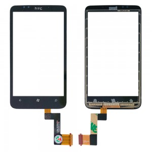 HTC Trophy - Front Glass Digitizer Black