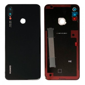 Huawei P Smart Plus - Battery Cover Black With Camera Lens