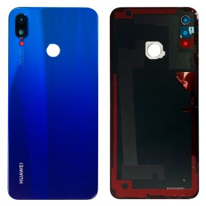 Huawei P Smart Plus - Battery Cover Blue With Camera Lens
