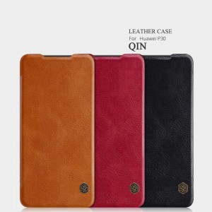 Huawei P30 - NILLKIN Qin Leather Case