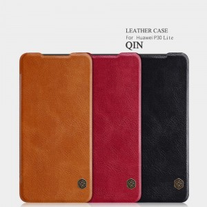 Huawei P30 Lite  - NILLKIN Qin Leather Case