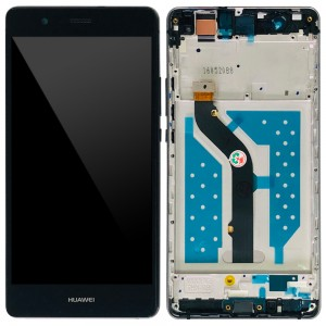 Huawei Ascend P9 Lite - Full Front LCD Digitizer with Frame Black