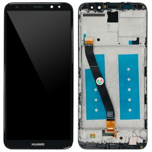 Huawei Ascend Mate 10 Lite / G10 - Full Front LCD Digitizer with Frame Black