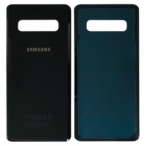 Samsung Galaxy S10 Plus G975 - Battery Cover with Adhesive Black