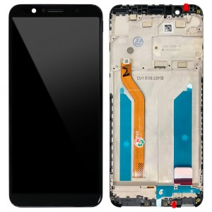 Asus Zenfone Max Pro ZB602KL - Full Front LCD Digitizer with Frame Black