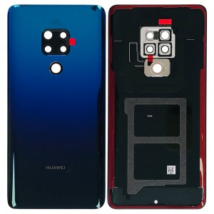 Huawei Mate 20 - OEM Battery Cover Twilight with Camera Lens & Adhesive