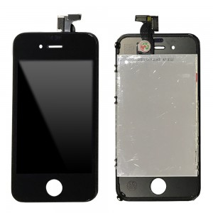 iPhone 4G - LCD Digitizer (original remaded)   Black