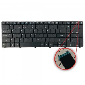 Acer Aspire 7741G - Keyboard US Layout