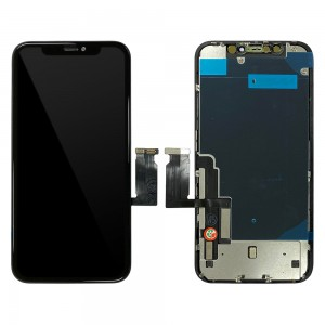 iPhone XR - LCD Digitizer Black EBS