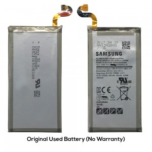 Samsung Galaxy S8 Plus G955 - Original Used Battery EB-BG955ABA 3500 mAH 13.48Wh (No Warranty)