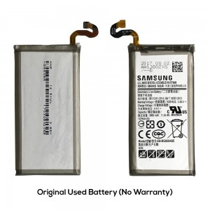 Samsung Galaxy S8 G950 - Original Used Battery EB-BG950ABE 3000mAh 11.55Wh (No Warranty)