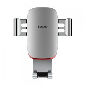 Baseus - Metal Age Gravity Car Mount Silver