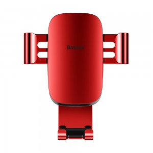 Baseus - Metal Age Gravity Car Mount Red