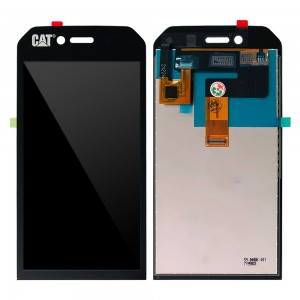 Cat S41 - Full Front LCD Digitizer Black