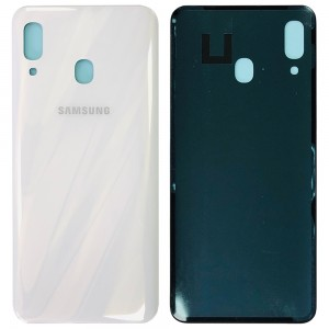 Samsung Galaxy A30 A305 - Battery Cover White