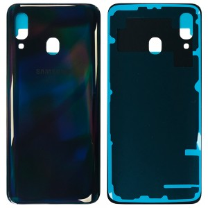 Samsung Galaxy A40 A405 - Battery Cover Black
