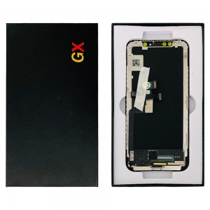 iPhone X - LCD Soft OLED  Digitizer Black A+++ GX