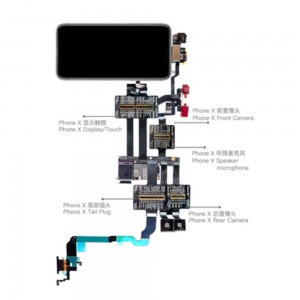QIANLI TOOLPLUS IBRIDGE PCBA Testing Cable for Front Camera/Rear Camera/Dock Connector/Touch - iPhone X