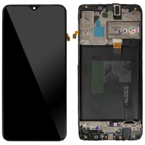 Samsung Galaxy A10 A105 / M10 2019 M105 - Full Front LCD Digitizer Black With Frame