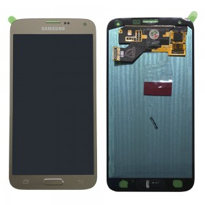 Samsung Galaxy S5 Neo G903F - Full front LCD Digitizer Gold