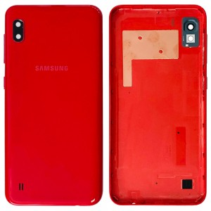 Samsung Galaxy A10 A105 - Back Housing Cover Black Red