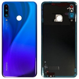 Huawei P30 Lite - OEM Battery Cover Twilight With Camera Lens (Version 48MP)