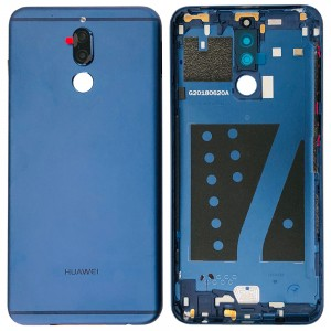 Huawei Mate 10 Lite  / G10 - Battery Cover with Adhesive Blue