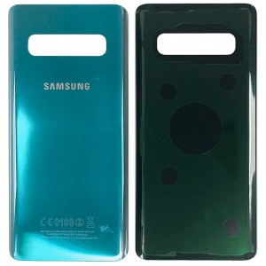 Samsung Galaxy S10 G973 - Battery Cover with Adhesive Green
