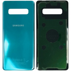 Samsung Galaxy S10 Plus G975 - Battery Cover with Adhesive Green