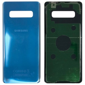 Samsung Galaxy S10 Plus G975 - Battery Cover with Adhesive Blue