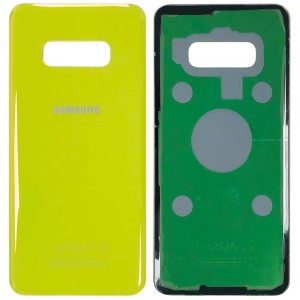 Samsung Galaxy S10e G970 - Battery Cover with Adhesive Yellow
