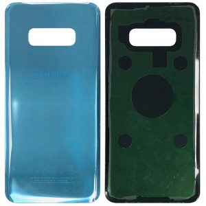 Samsung Galaxy S10e G970 - Battery Cover with Adhesive Blue